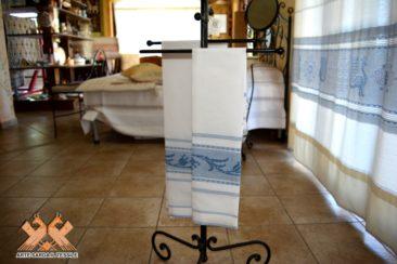coppie asciugamani lino fine