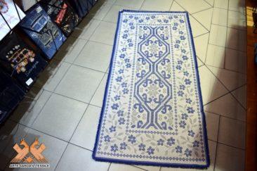 tappeto disegno gancios 2 colori