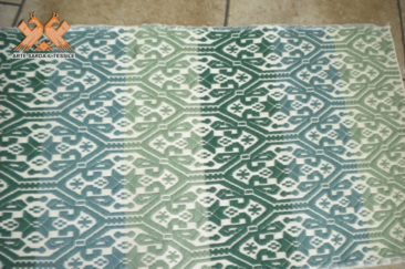 tappeto doppia faccia gancios, fasce colorate