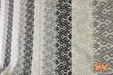 tappeto gancios doppia faccia a fasce colorate