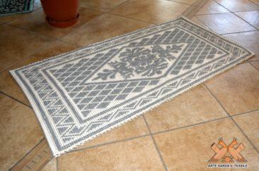 tappeto semipieno cotone disegno pistoccu