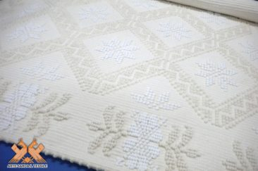 tappeto semipieno disegno stelline