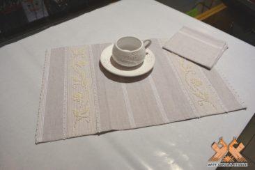 tovaglietta da colazione disegno rosellina